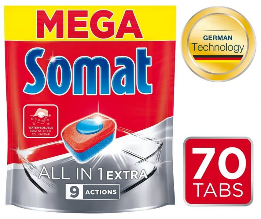 Somat All in One Extra tablety do myčky
