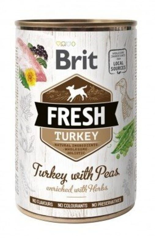 Brit Fresh Turkey with Peas