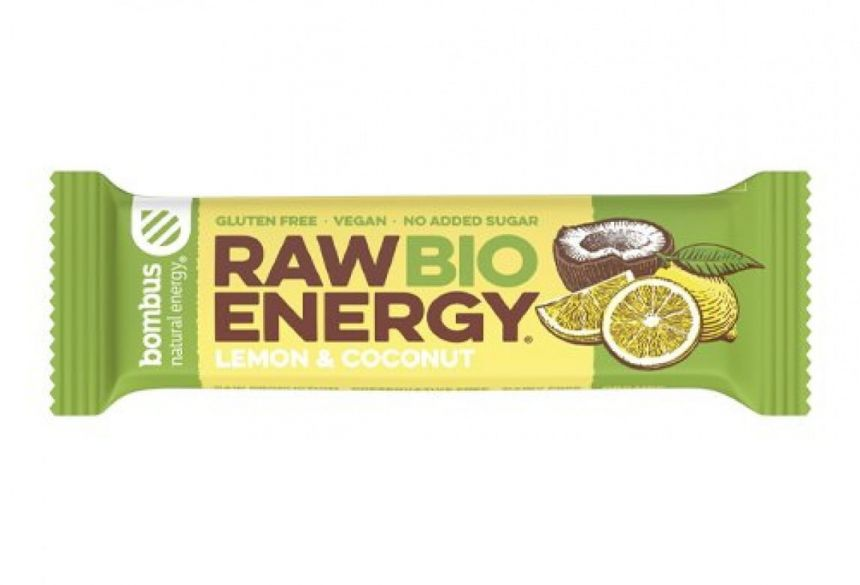 Bombus Raw Energy Bio Lemon & Coconut