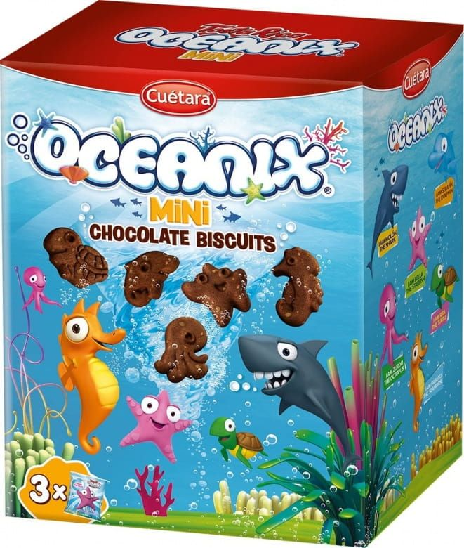 Cuétara Oceanix Mini Chocolate biscuits