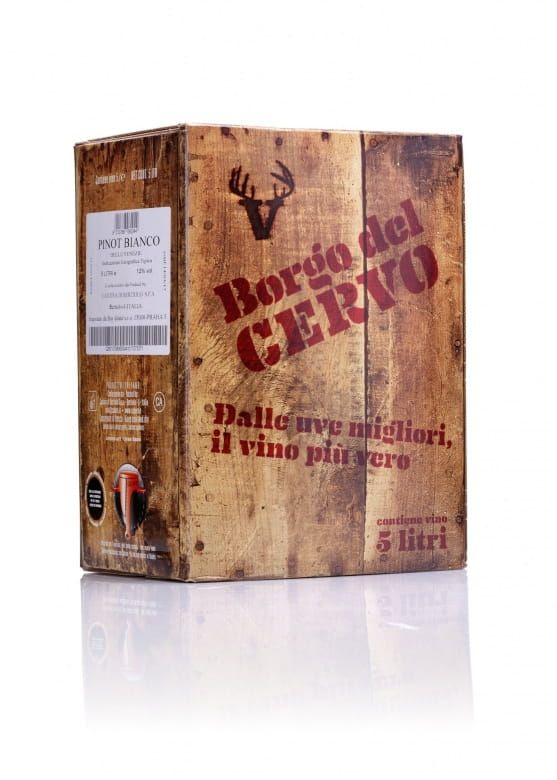 Wine Food Market Borgo del Cervo Pinot Bianco bag in box