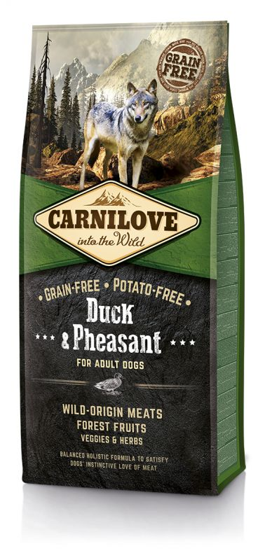 Carnilove Grain-Free Duck & Pheasant for Adult
