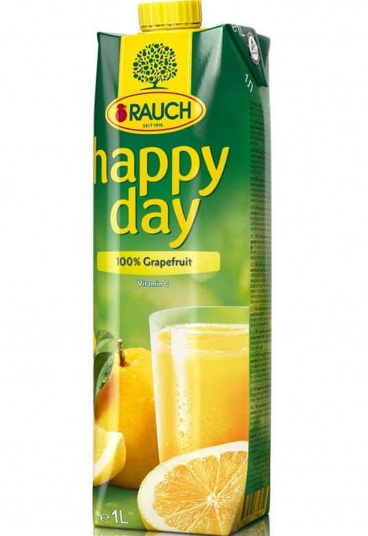Rauch Happy Day Grapefruit 100%