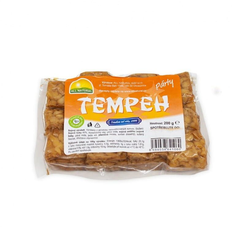 All Natural Tempeh párty