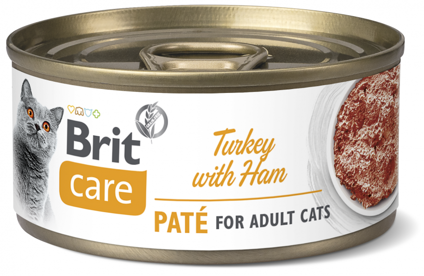 Brit Care Cat Turkey Paté with Ham
