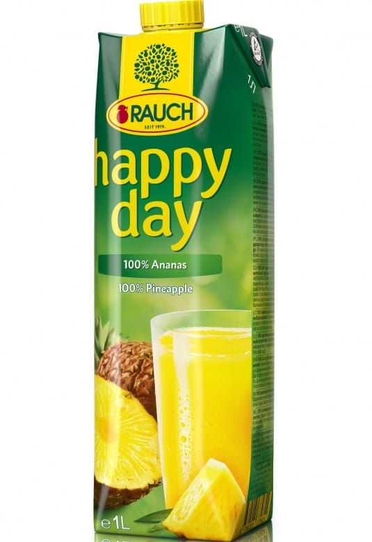 Rauch Happy Day Ananas 100%