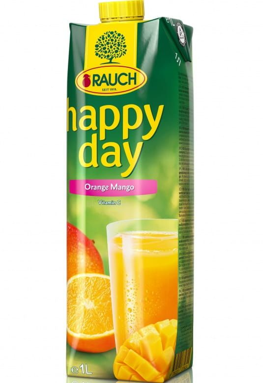Rauch Happy Day Pomeranč / Mango