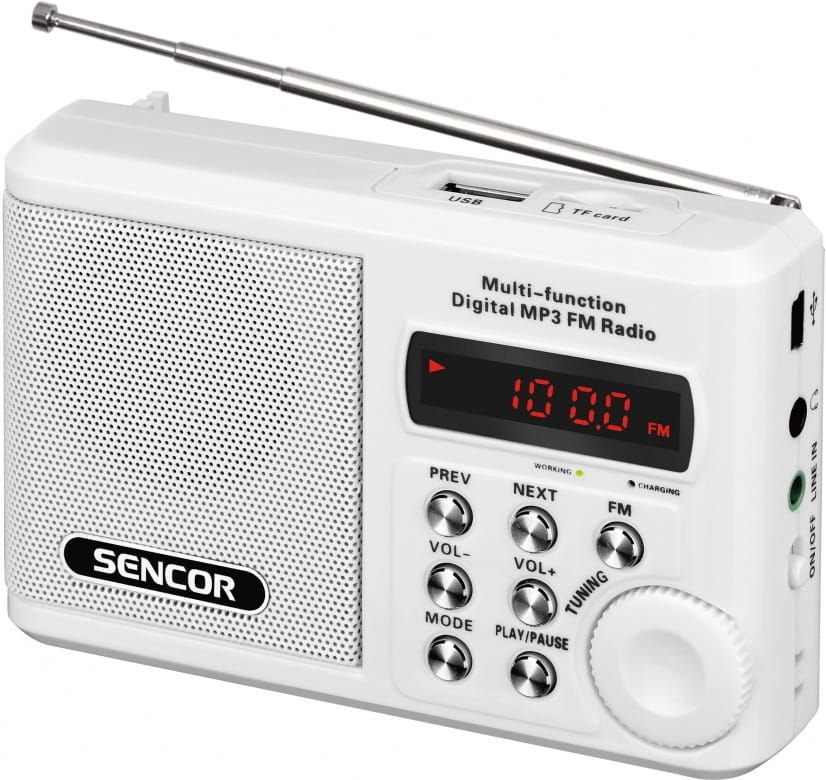 Sencor Rádio s USB/MP3 SRD 215 W