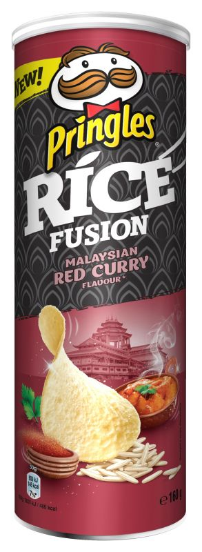 Pringles Rice Fusion Malaysian red curry - EXPIRACE DO 3.7.