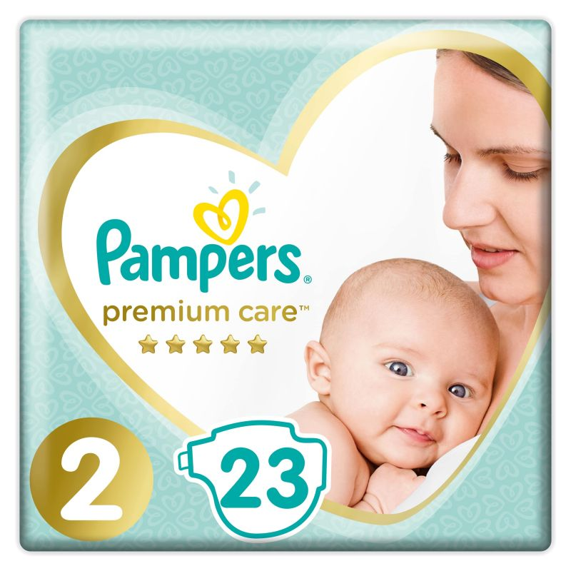 Pampers Premium Carry Pack velikost 2 (4-8kg)