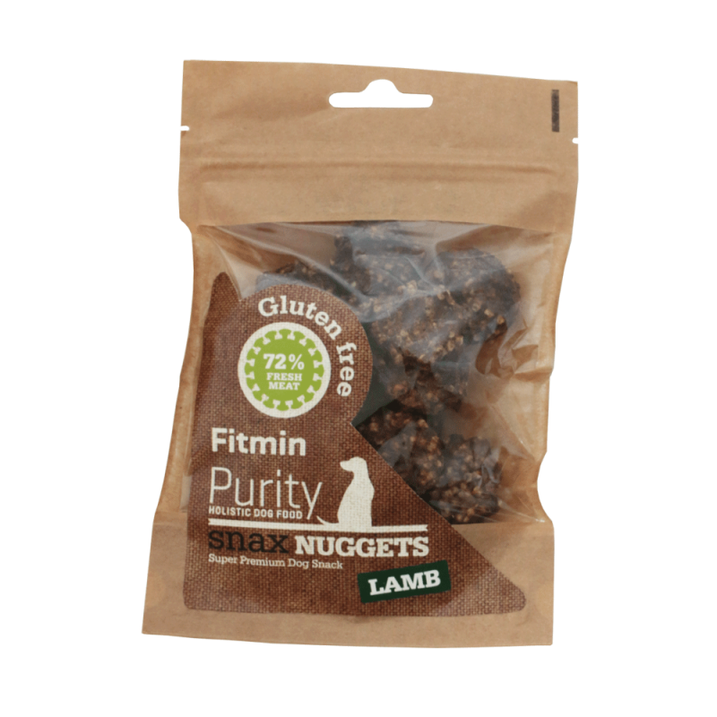 Fitmin Dog Purity Snax NUGGETS lamb