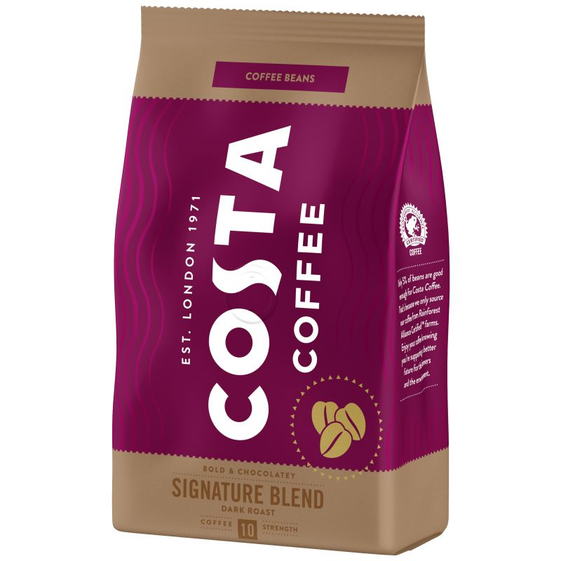 Costa Coffee Signature Blend (dark) zrnková káva