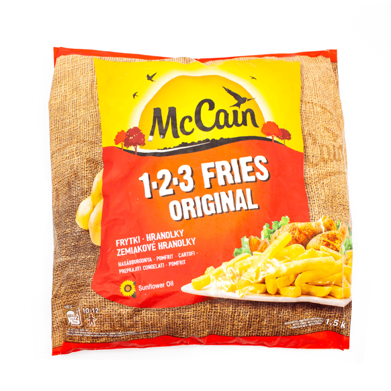 McCain 123 Fries Original