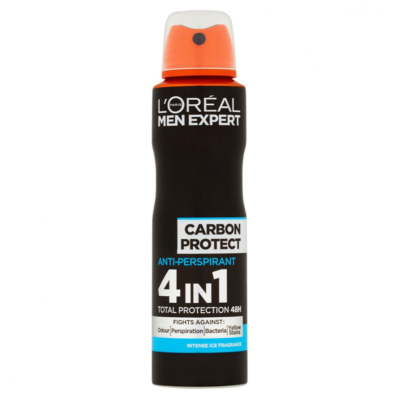 L'Oréal Paris Men Expert Carbon Protect pánský antiperspirant ve spreji