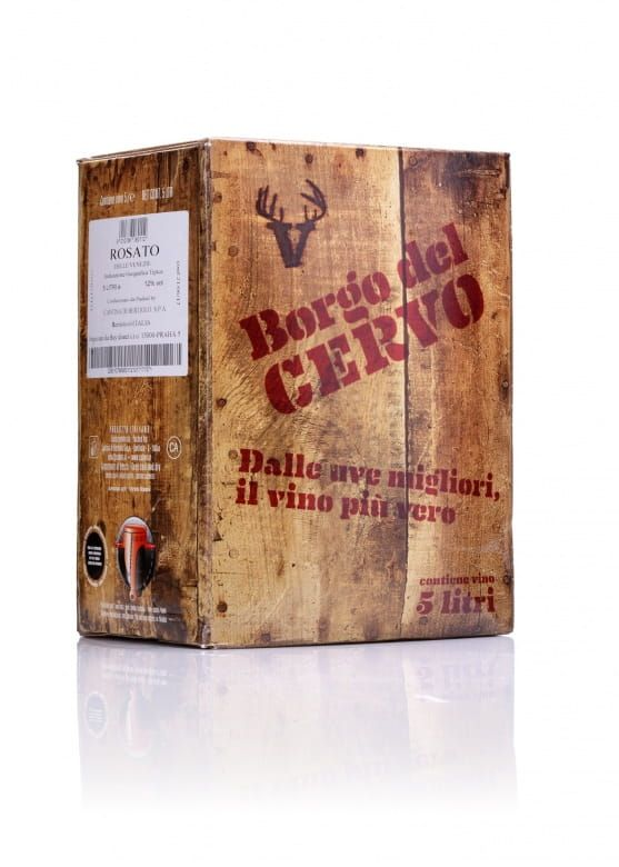 Wine Food Market Borgo del Cervo Rosato bag in box IGT