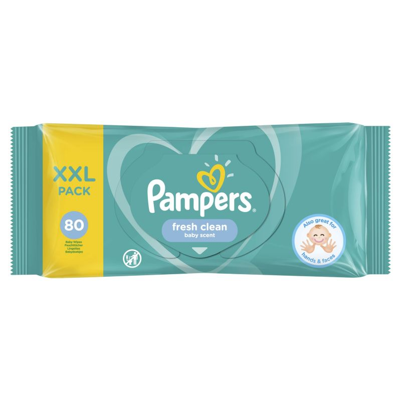 Pampers Wipes Fresh Clean XXL