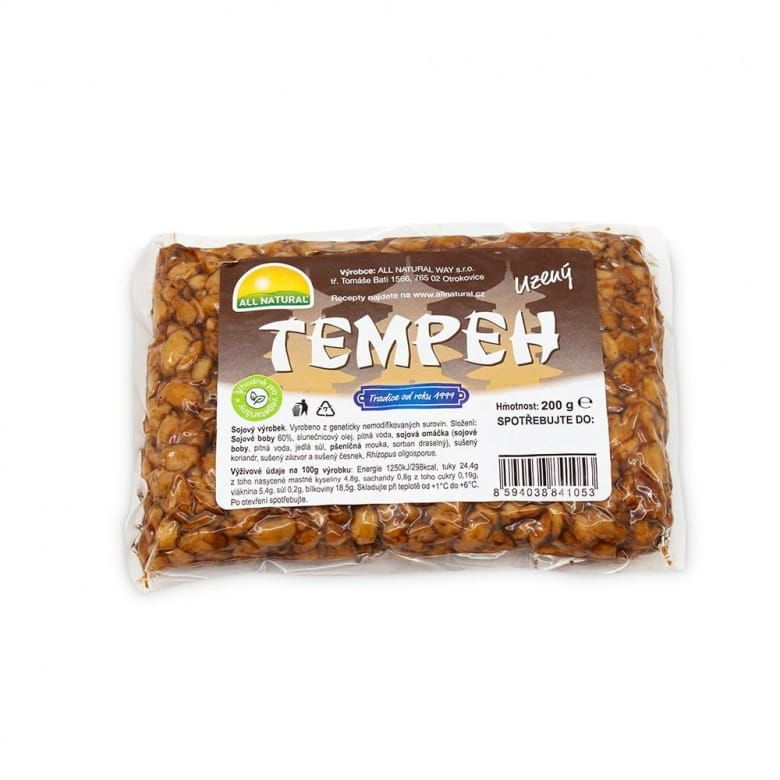 All Natural Tempeh uzený