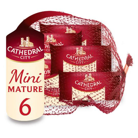 Cathedral City Cheddar Mature mini 6x20g