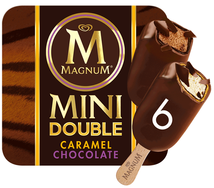 Magnum Mini Double Chocolate & Caramel 6x60ml