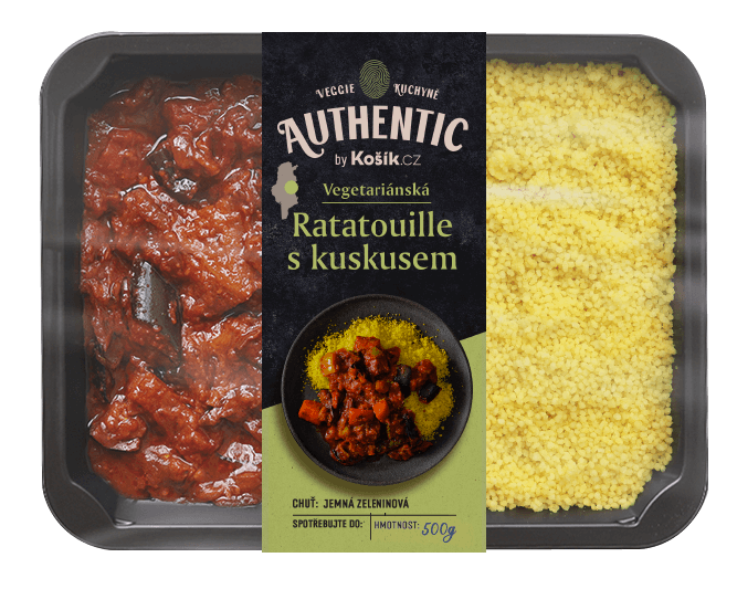 Authentic Ratatouille s kuskusem