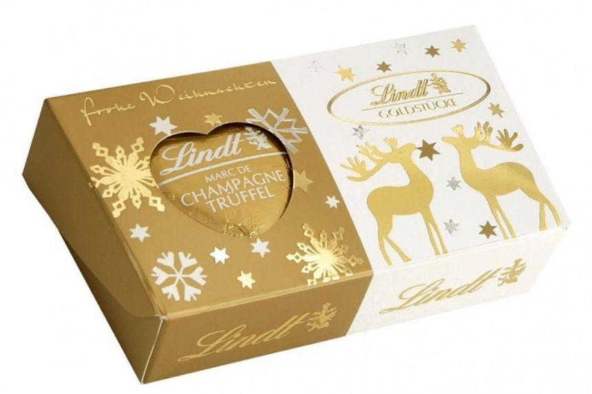 Lindt Gold Nuggets Truffle Heart Pralinky