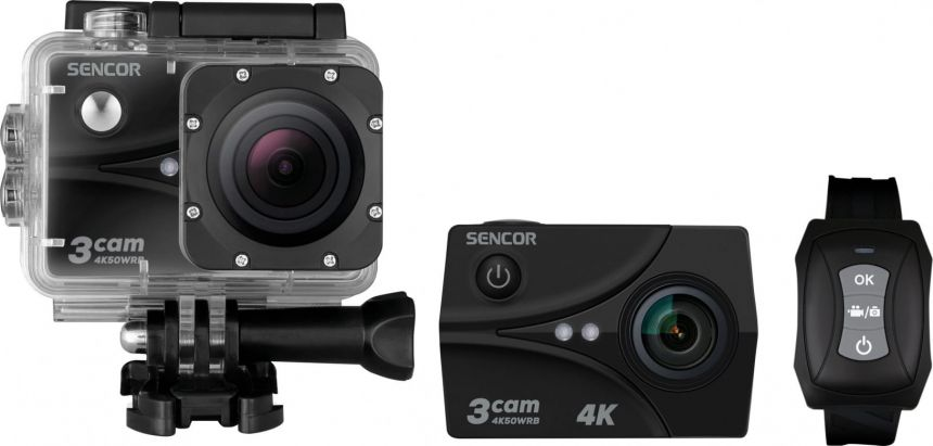 Sencor Outdoor camera 3CAM 4K50WRB