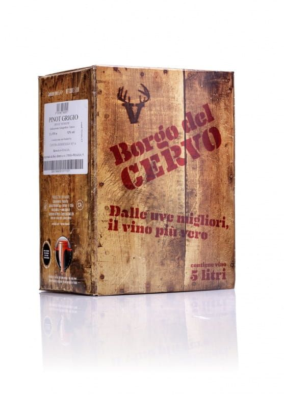 Wine Food Market Borgo del Cervo Pinot Grigio IGT bag in box