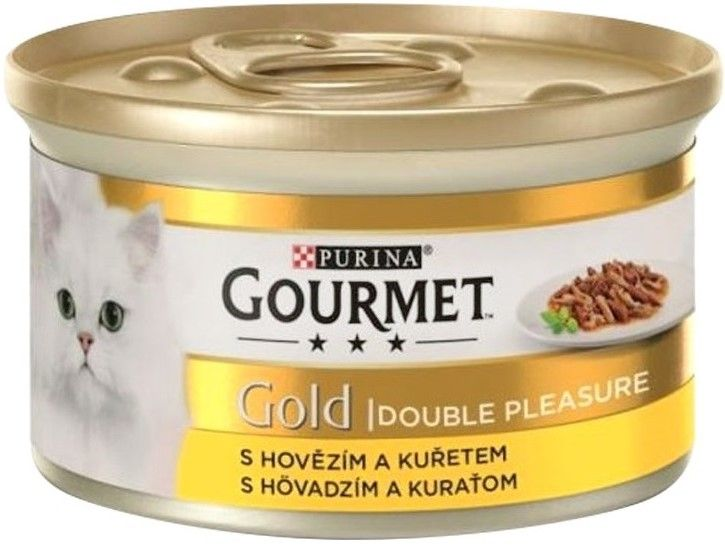 Purina Gourmet gold duo Beef and Chicken