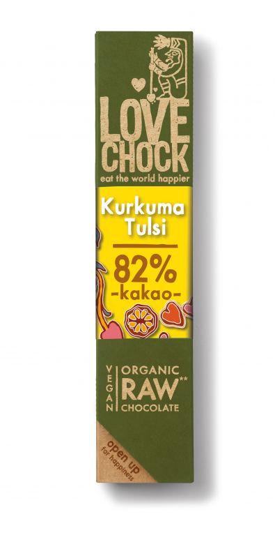 Lovechock Bar Kurkuma & Tulsi RAW