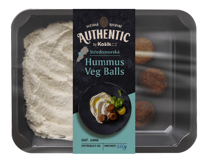Authentic Hummus Veg Balls