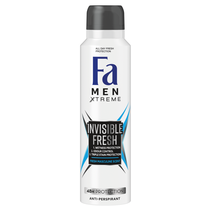 Fa Men Invisible Fresh deodorant sprej