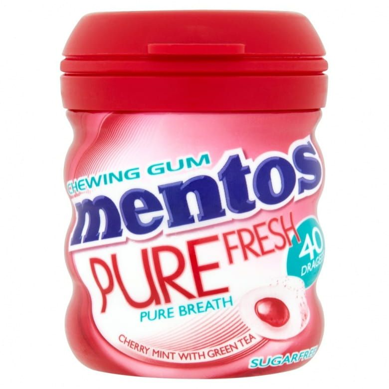 Mentos Gum Pure Fresh Cherry Mint
