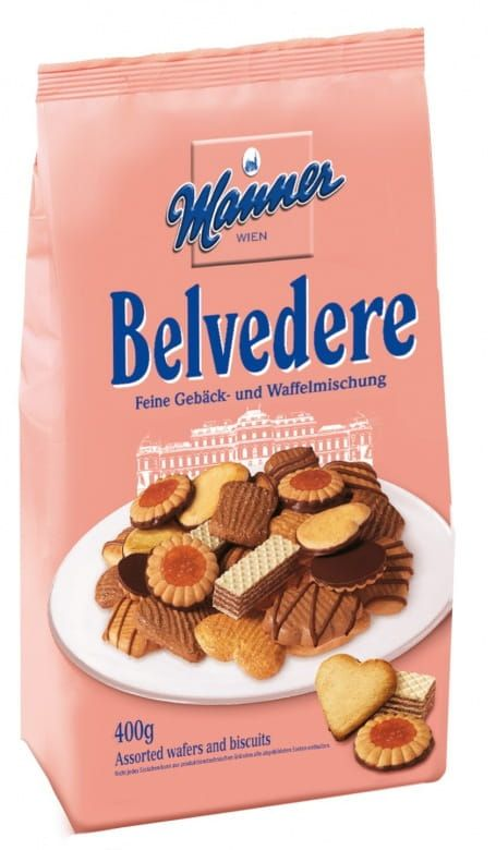 Manner Belvedere sušenky mix