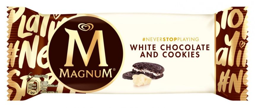 Magnum White Chocolate & Cookies zmrzlina 90ml