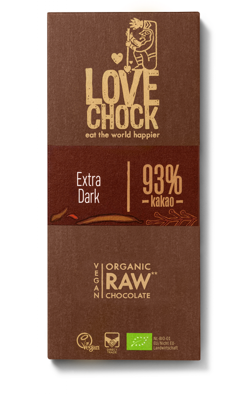 Lovechock Tablet Extra dark 93% RAW