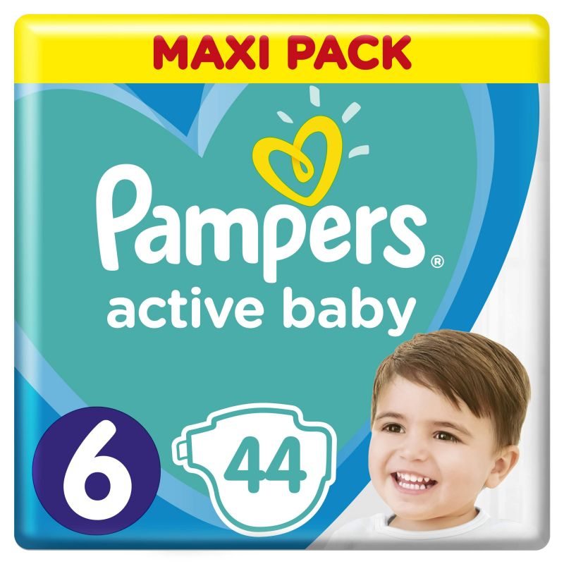 Pampers Active Baby Maxi Pack velikost 6 (13-18kg)