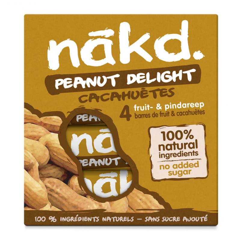 Nakd Peanut Delight Multi pack 4x35g