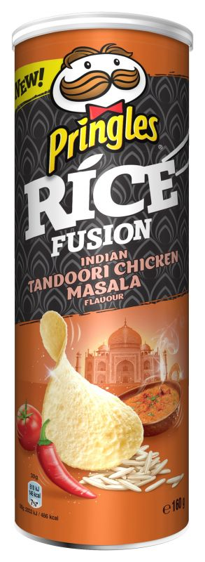 Pringles Rice Fusion Indian tandoori chicken masala