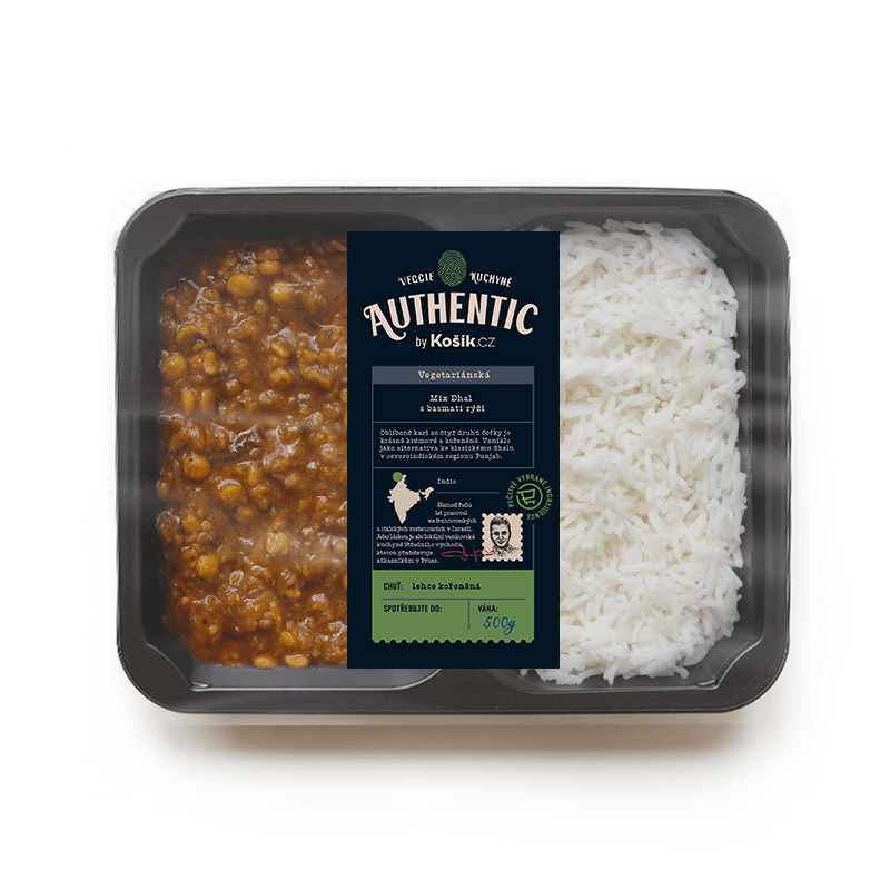 Authentic by Košík Mix Dhal s basmati rýží