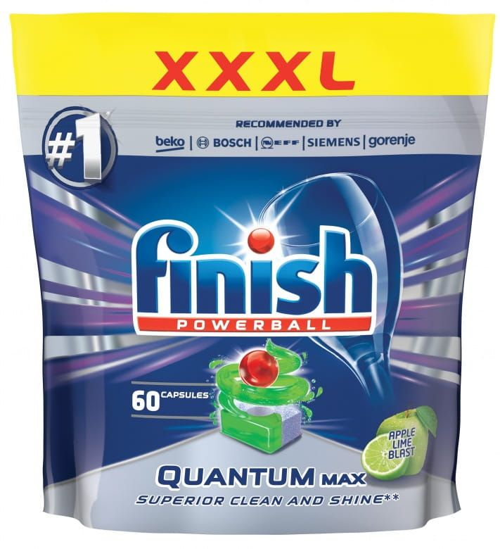 Finish Powerball Quantum Max Apple Lime tablety do myčky