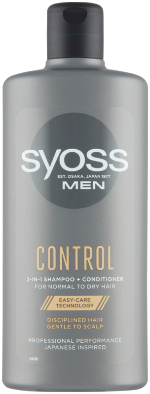 Syoss MEN šampon Control