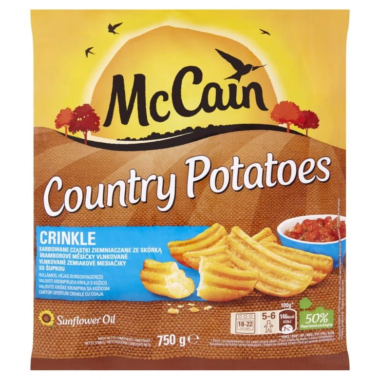 McCain Country Potatoes Crinkle