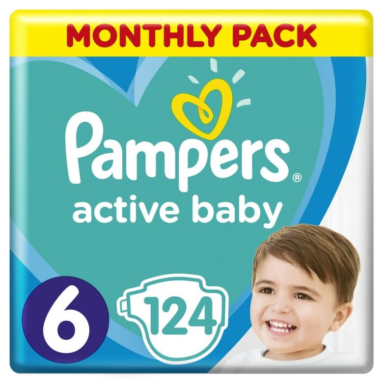 Pampers Active Baby Velikost 6 (13–18kg)