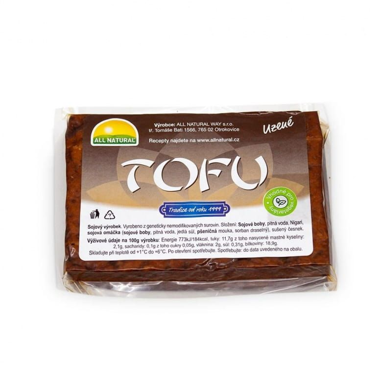 All Natural Tofu uzené