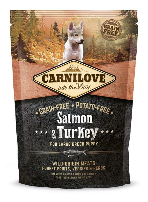 Carnilove Grain-Free Salmon & Turkey for Large Breed Puppy