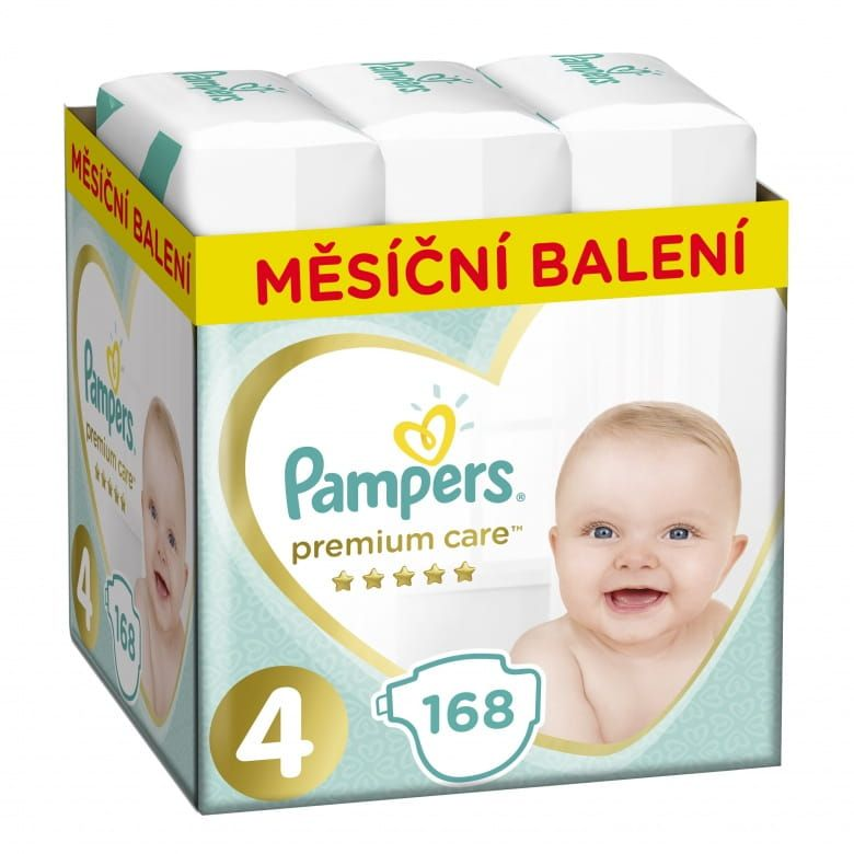 Pampers Premium Monthly Box Velikost 4