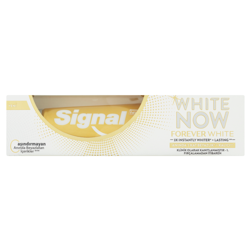 Signal White Now Forever White zubní pasta