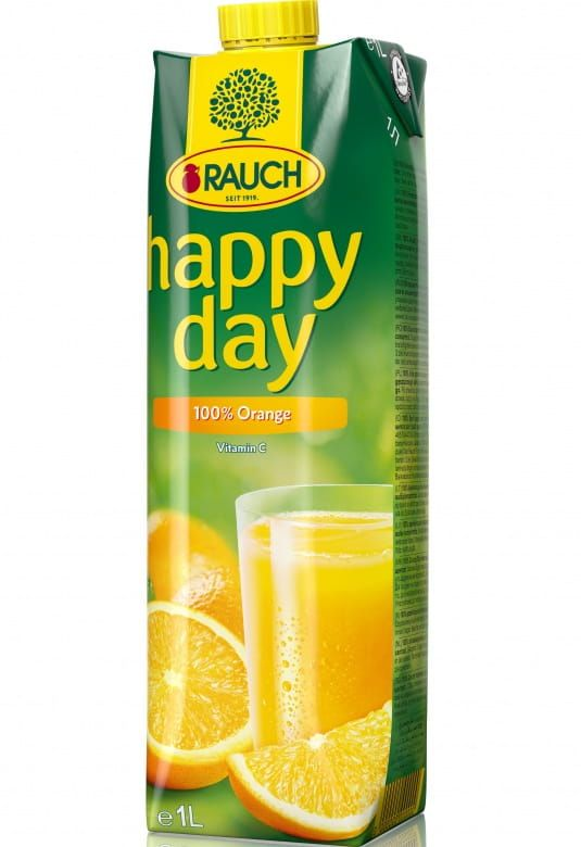 Rauch Happy Day Pomeranč 100%