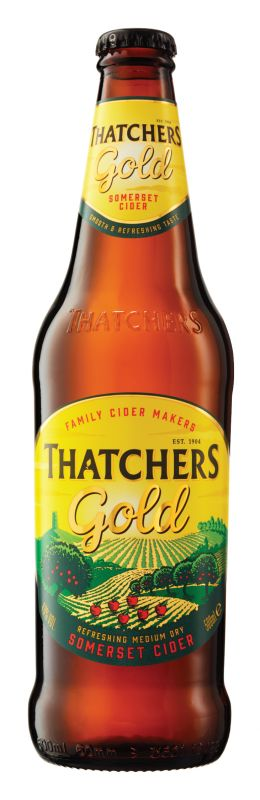Thatchers Cider gold
