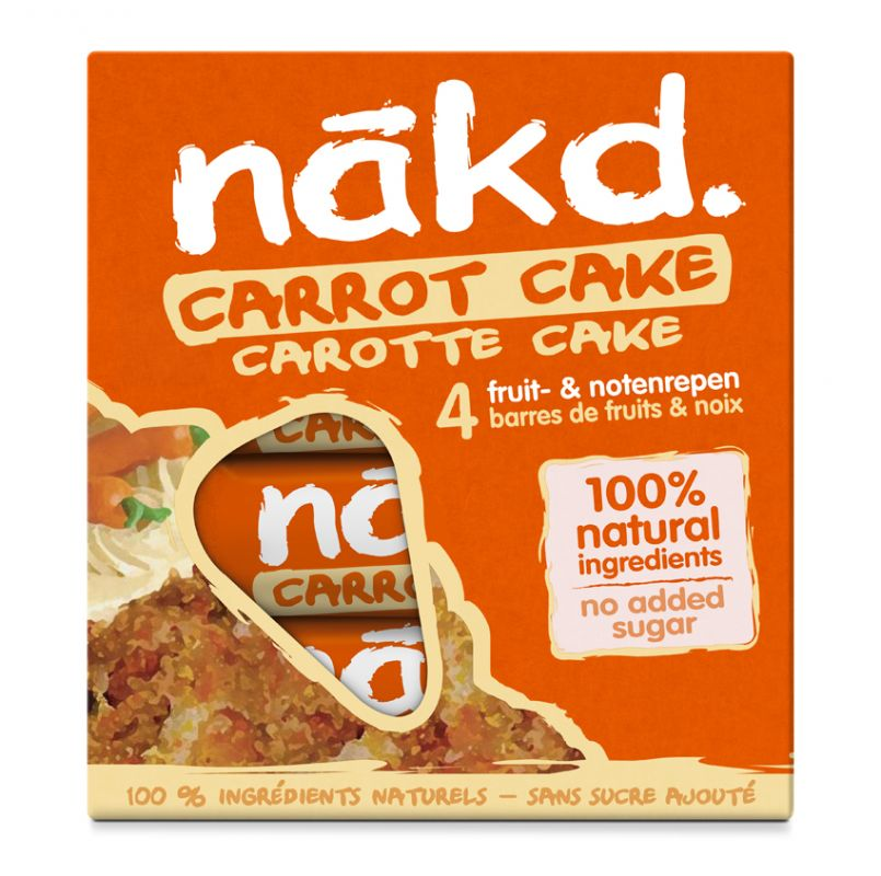 Nakd Carrot Cake Multi pack 4x35g
